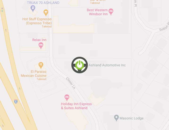 Ashland Automotive mobile map